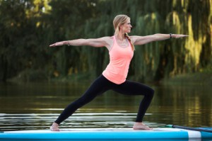 Yoga on the SUP