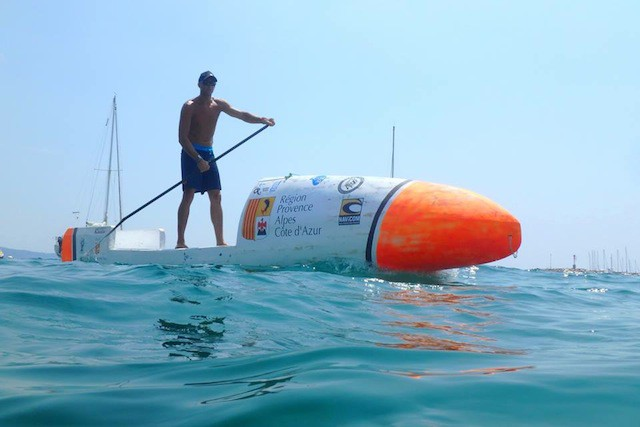 Frenchman Attempting To Cross The Atlantic With Sup