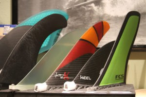6 different kinds of fins for paddle boards