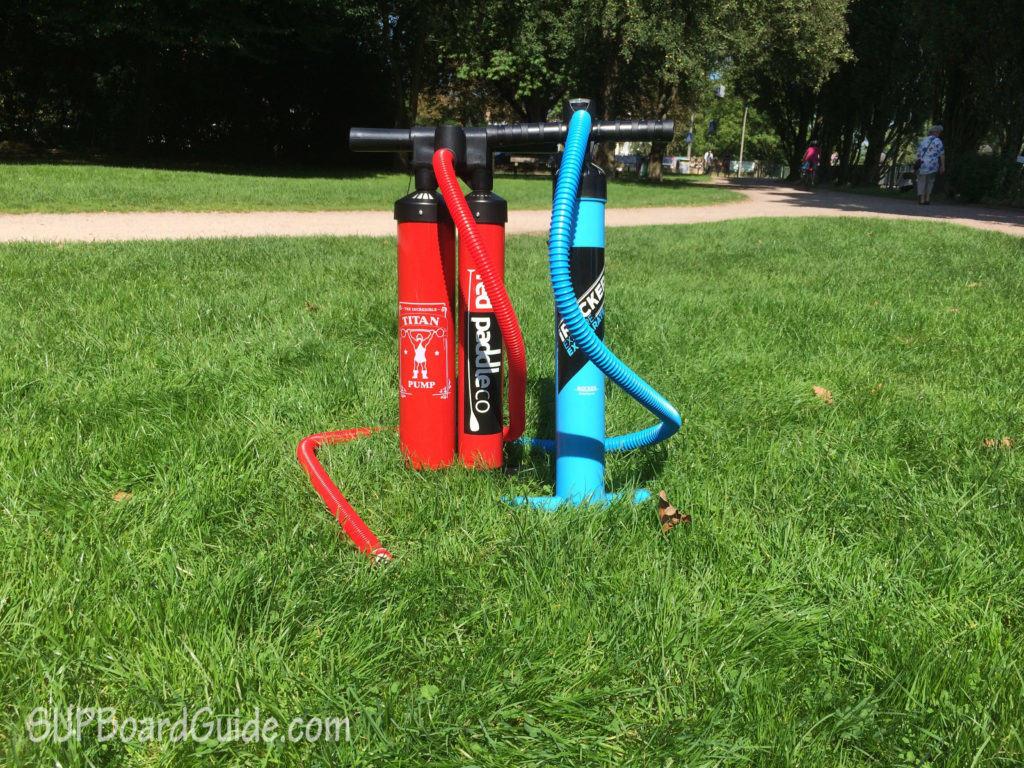 Titan Pump vs Dual Action Pump