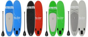 4 different colors for SUP