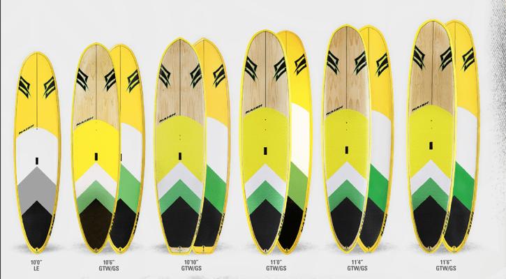 Nalu board range