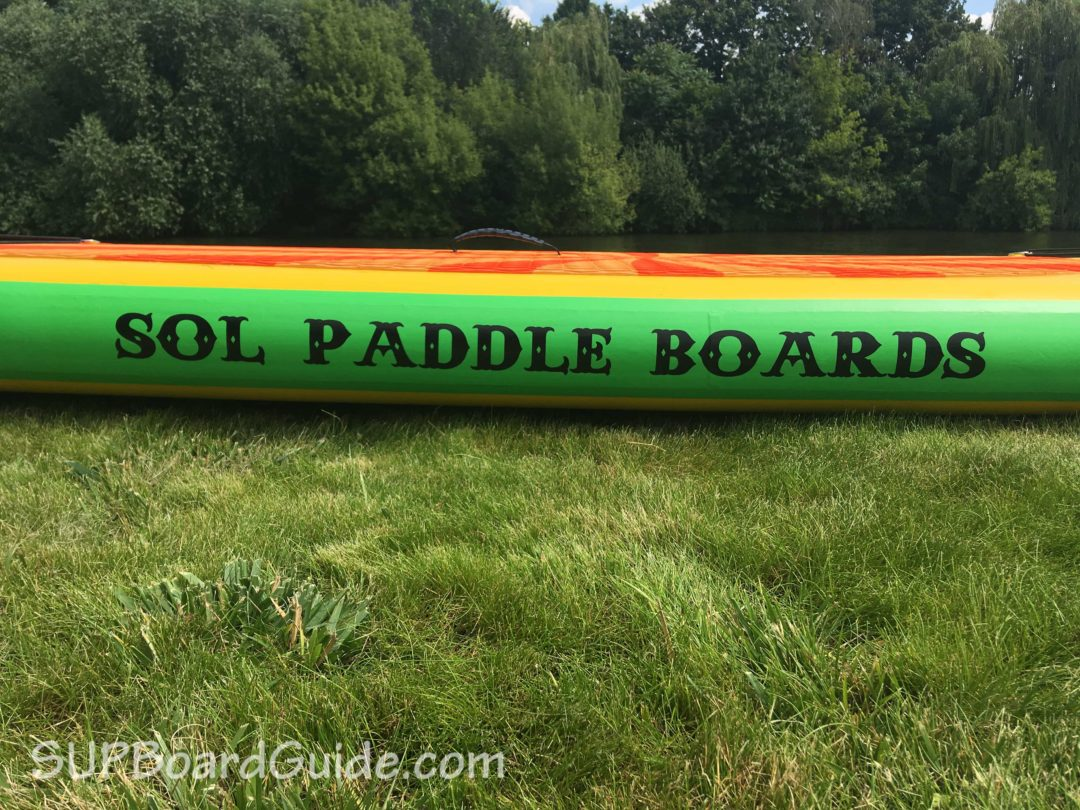 Inflatable Paddle Board side