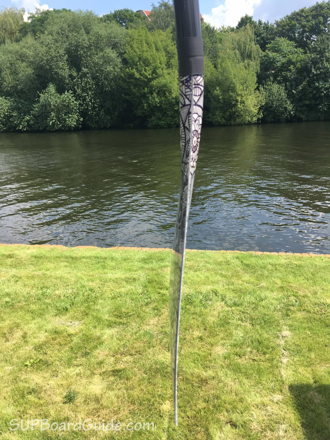 Paddle Board Blade Angle