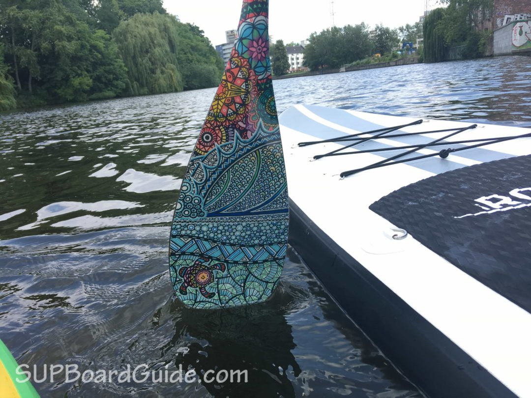 Carbon SUP Paddle Water