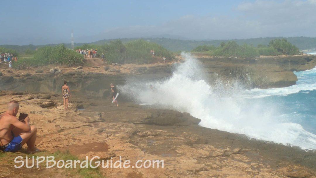 Blow hole Bali