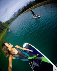 After a couple of storms hit North America, a group friends found solace on Canada's calm Two Jack Lake.