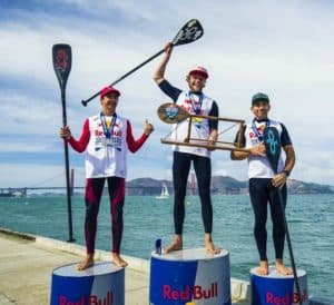 The Red Bull Heavy Water Race proved no match to the resilience of Casper Steinfath. The win comes off after a second place finish against teammate Mo Freitas in Cold Hawaii and winning the 200-meter sprint in Denmark for 2017 ISA World Tour.