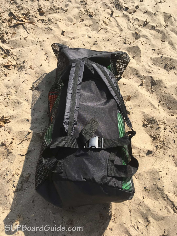 Padding on Backpack