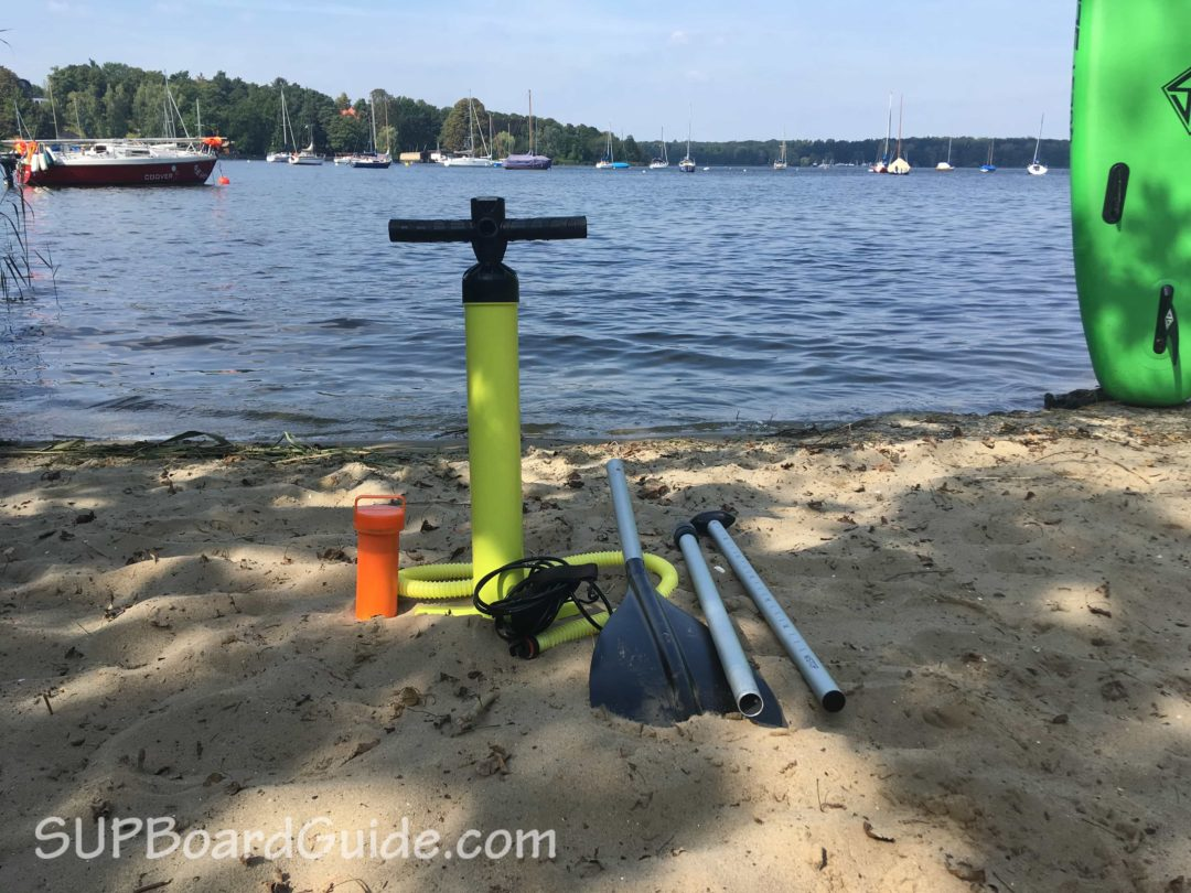 Keeper Sports Paddle and Pump