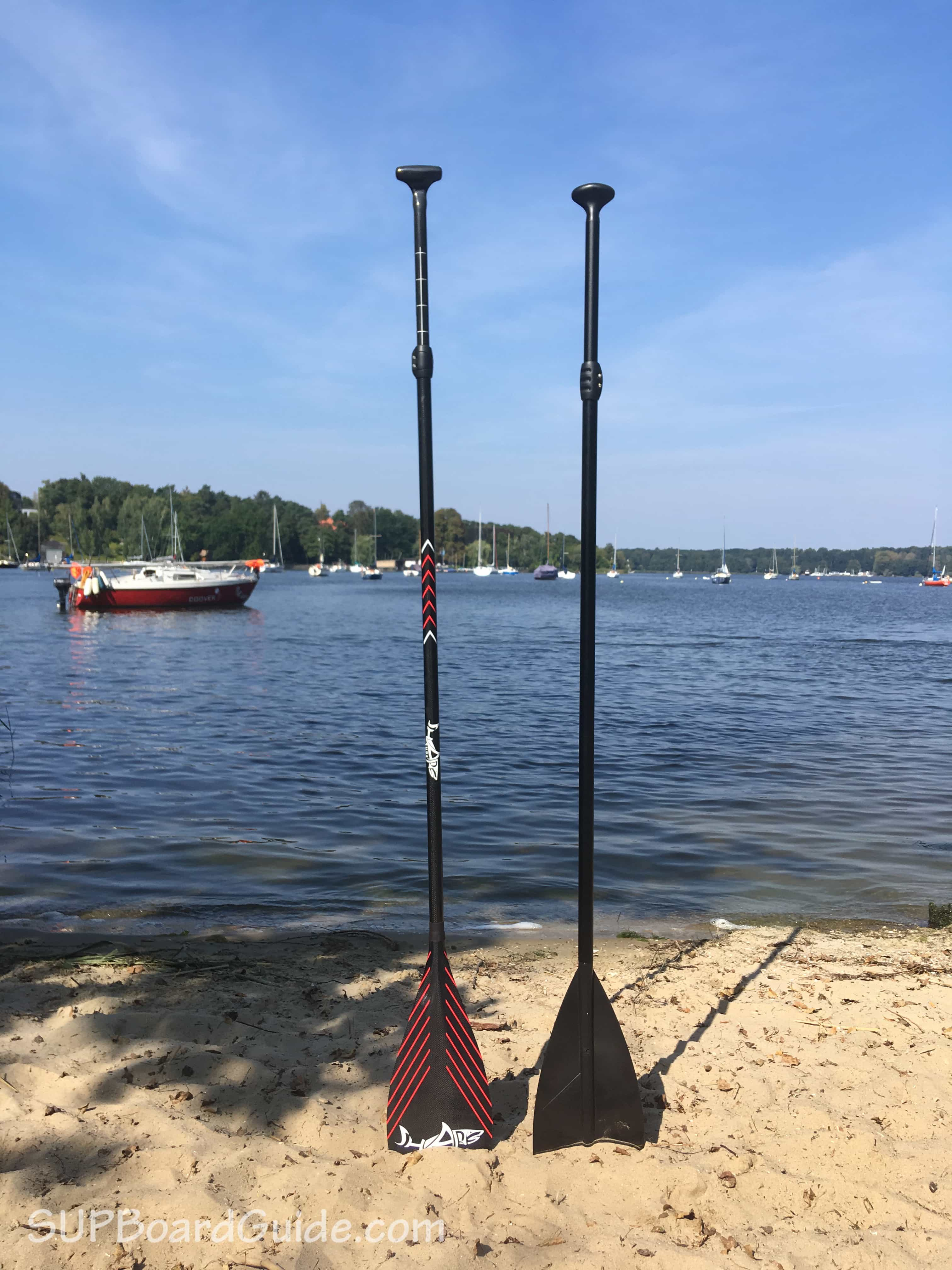Paddle comparison