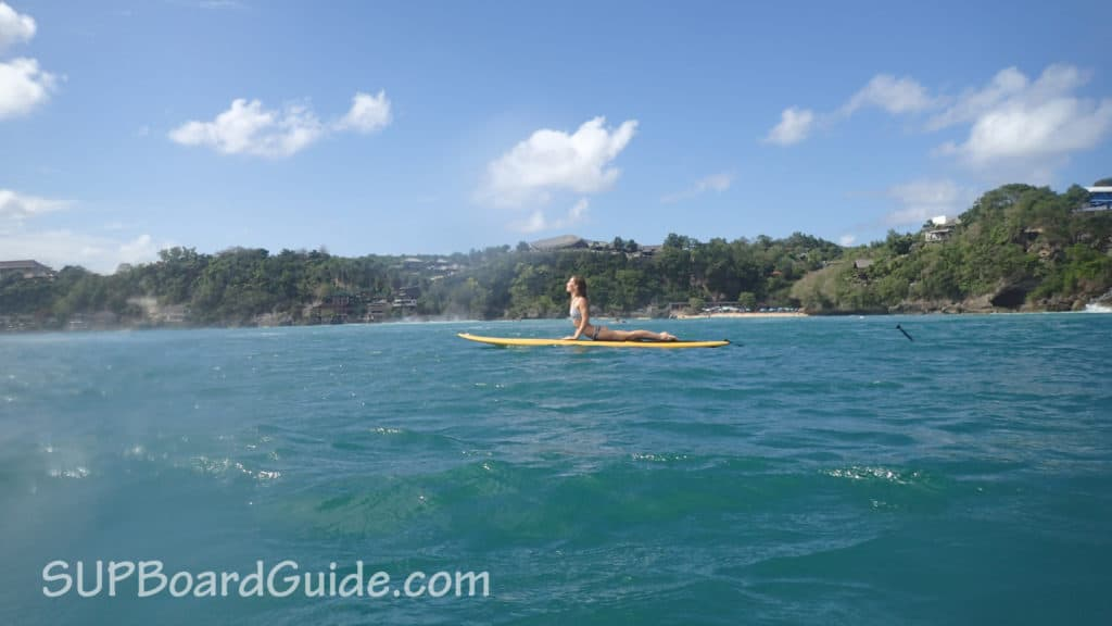 Yoga lifestyle surfer