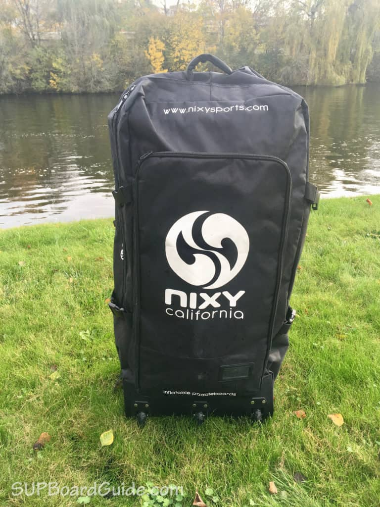 Large inflatable backpack