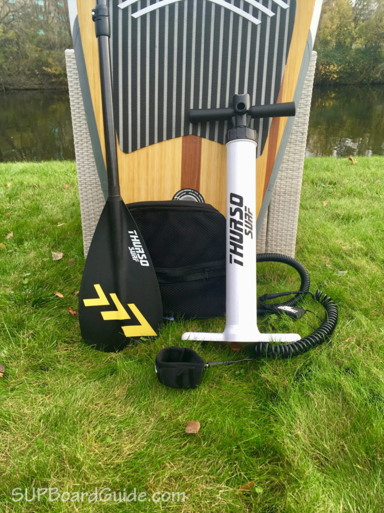 iSUP pump and gear