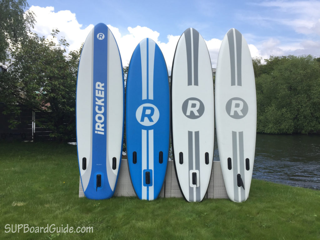 4 iRocker SUP Boards