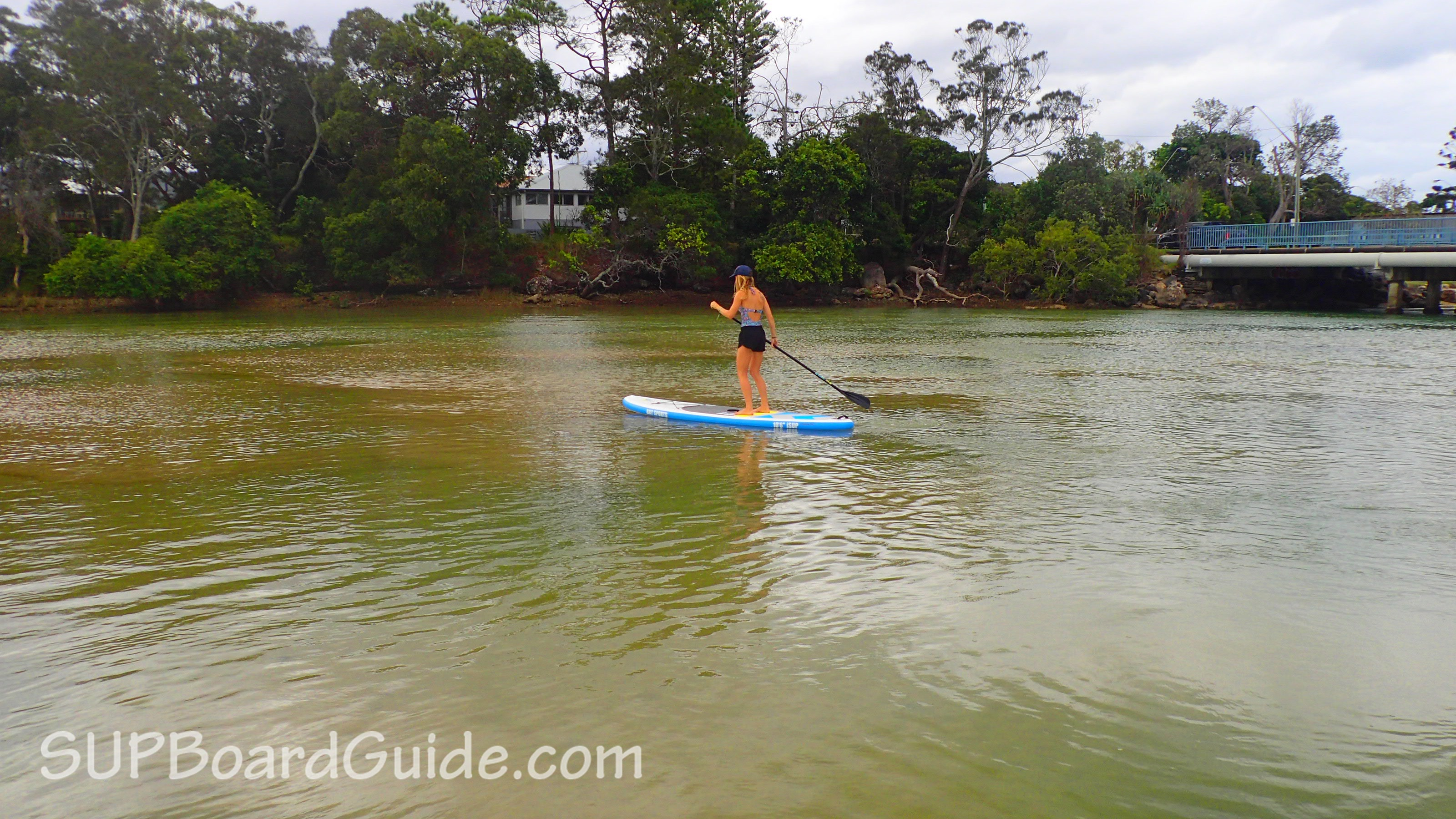 Flat water paddling review