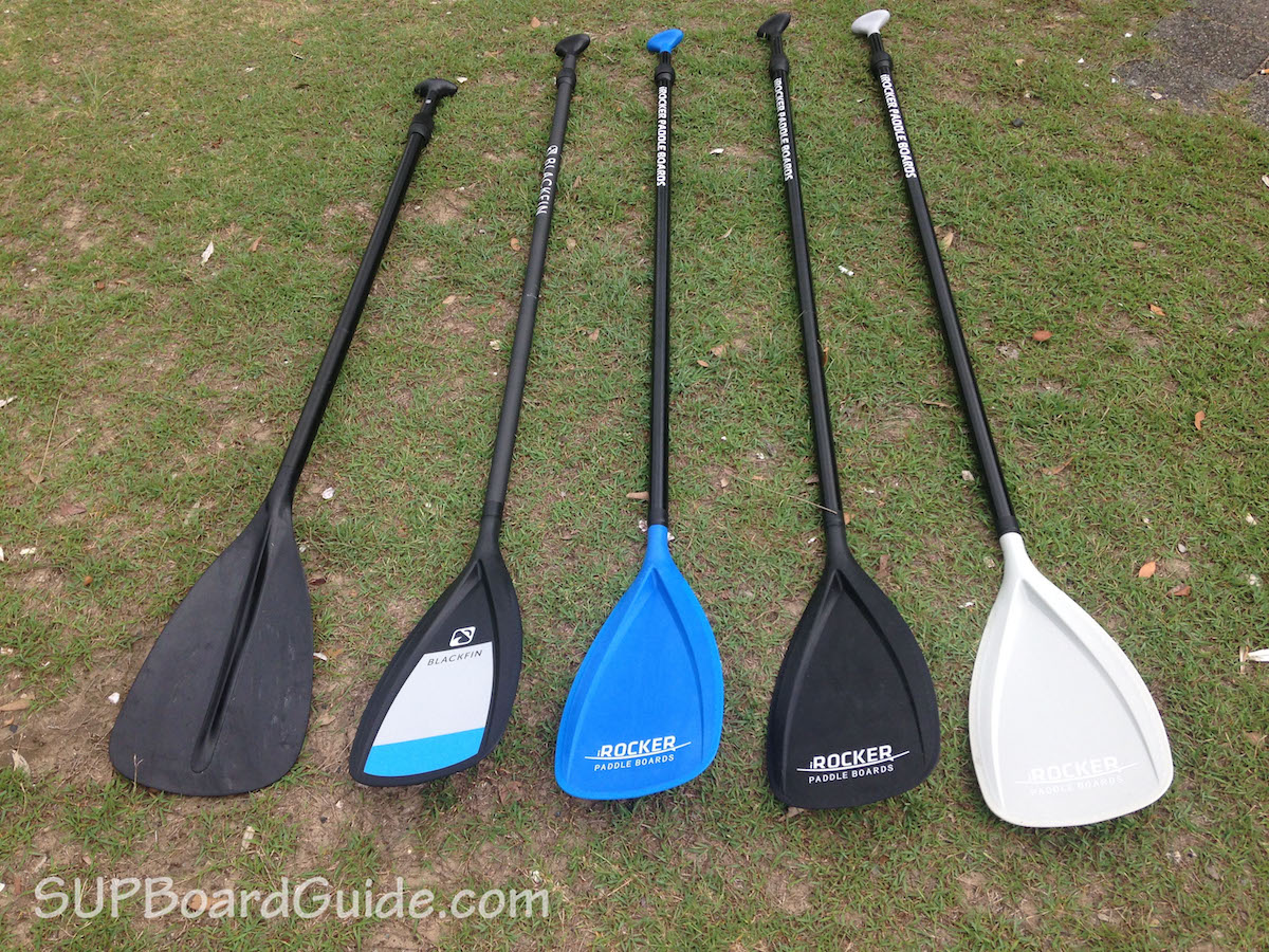 iRocker and Blackfin paddles
