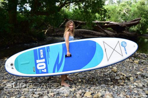 Girl Holding ERS Board