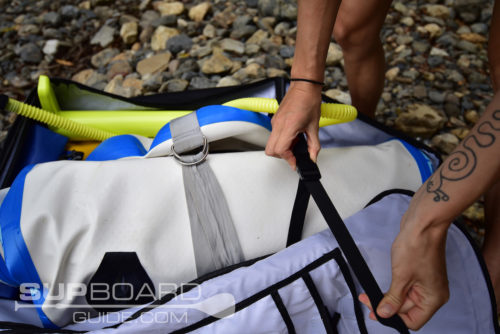 Inside Of SUP Bag