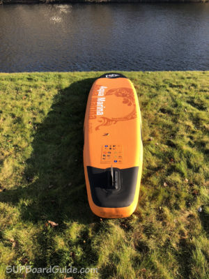 Fin Area Of Inflatable SUP