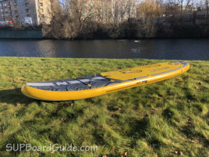 Side Angle Inflatable SUP