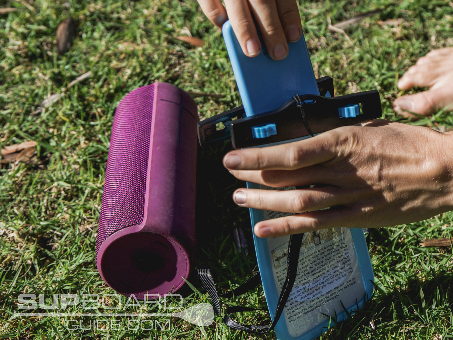 waterproof phone case for SUP