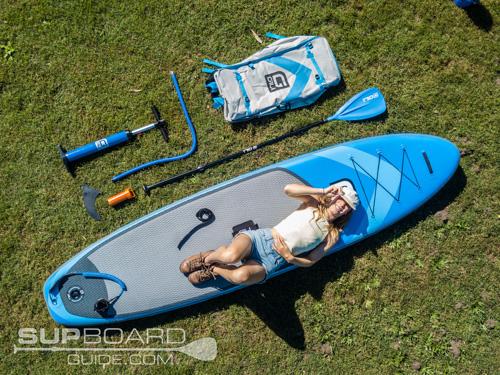 Drone Shot Paddleboard