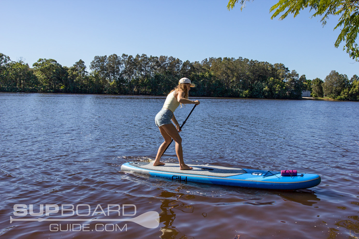 Turning Inflatable SUP