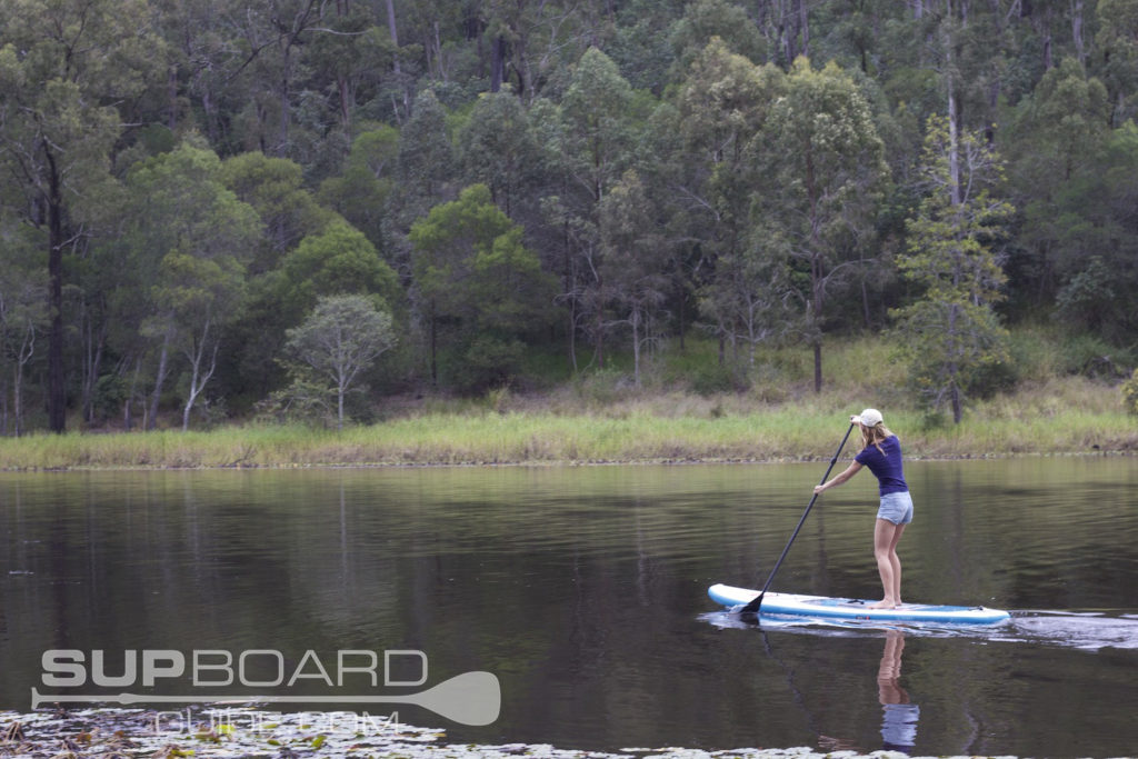 Lake Paddle Boarding
