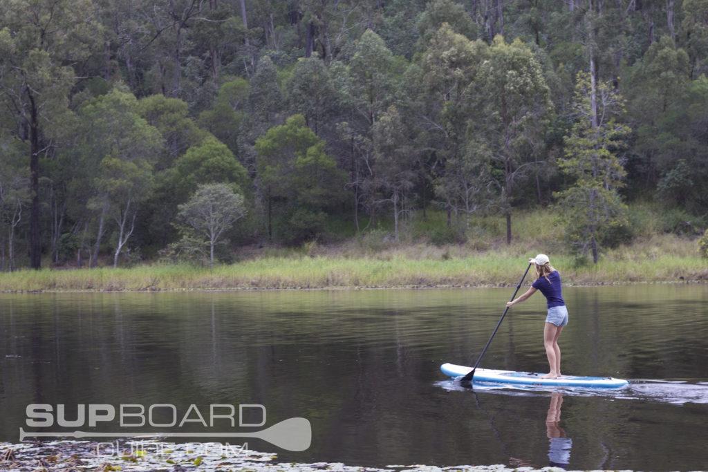Lake Paddle Boarding