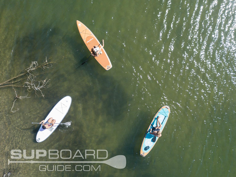 Drone Shot BaySports SUPS