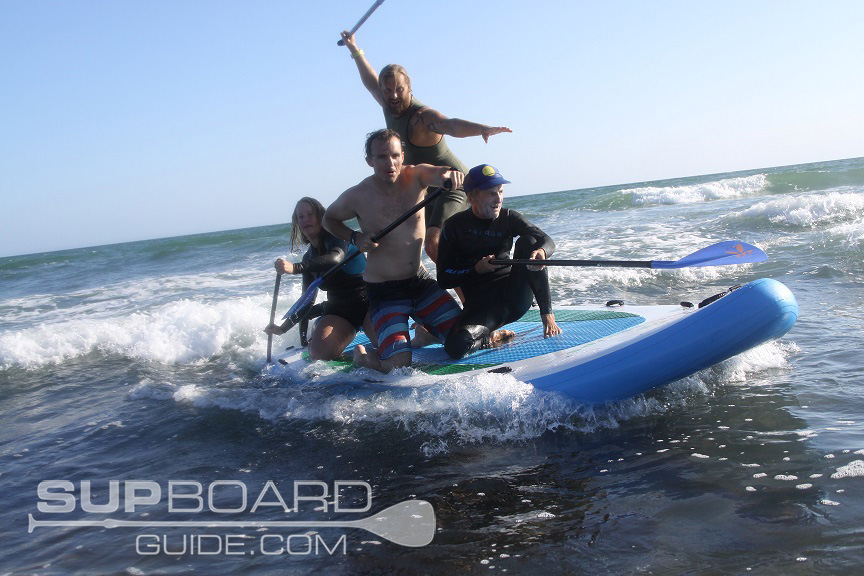 Giant SUP Group Fun