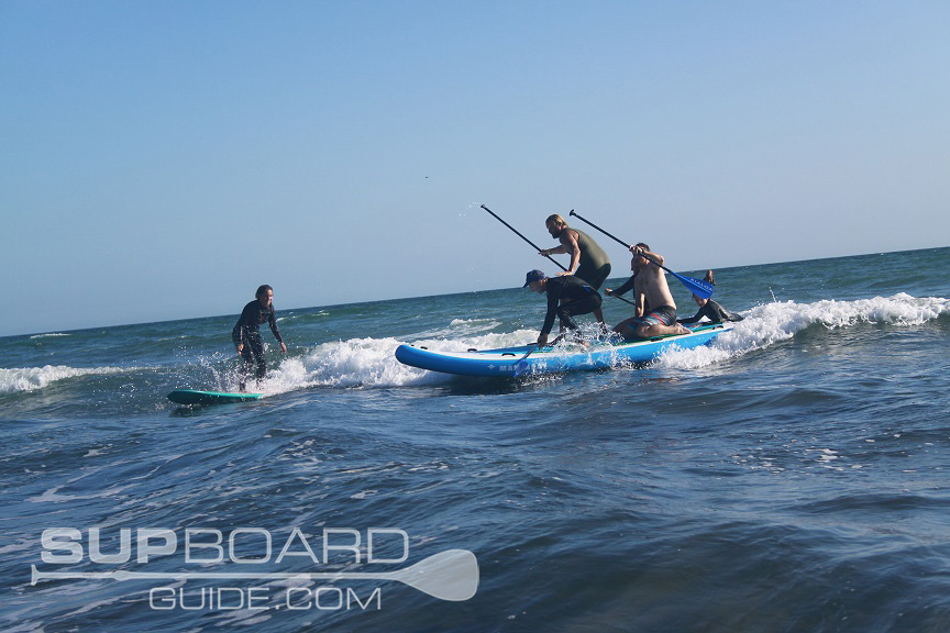 Waterkids Giant Surf on SUP