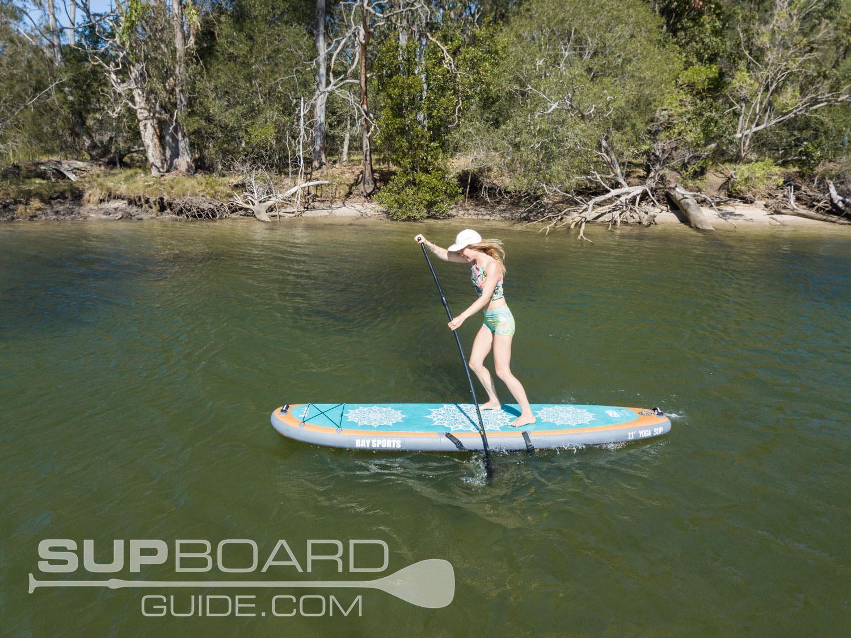 Paddling Yoga Paddleboard