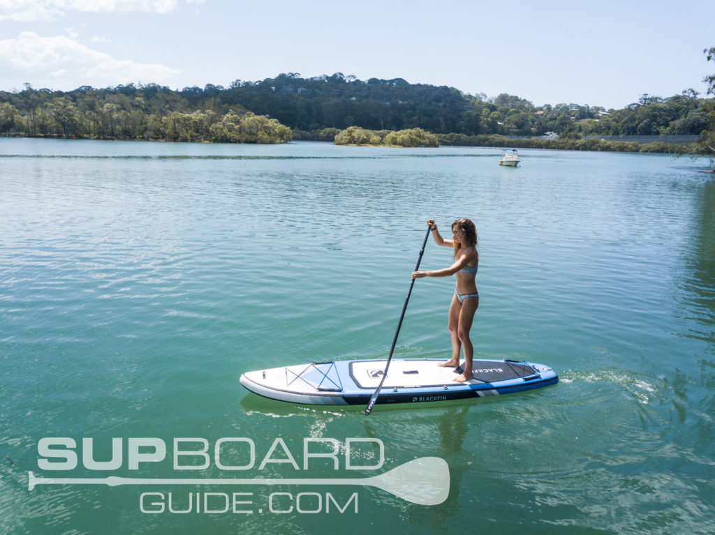 Performance inflatable SUP