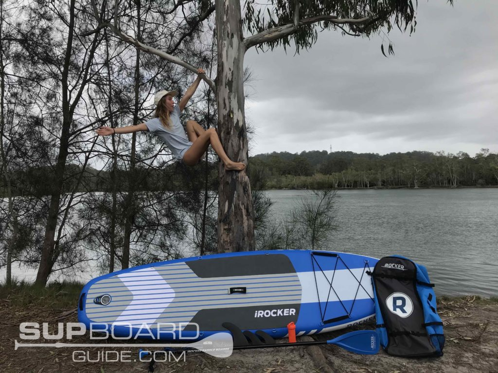 Inflatable SUP package