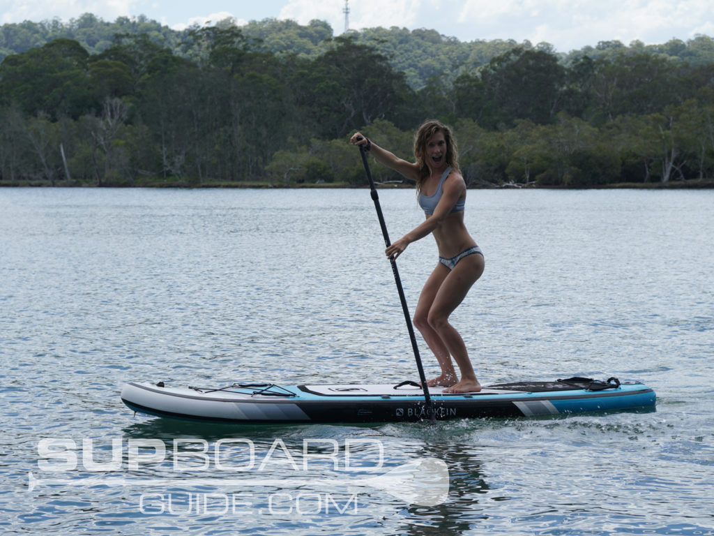 Paddle inflatable SUP