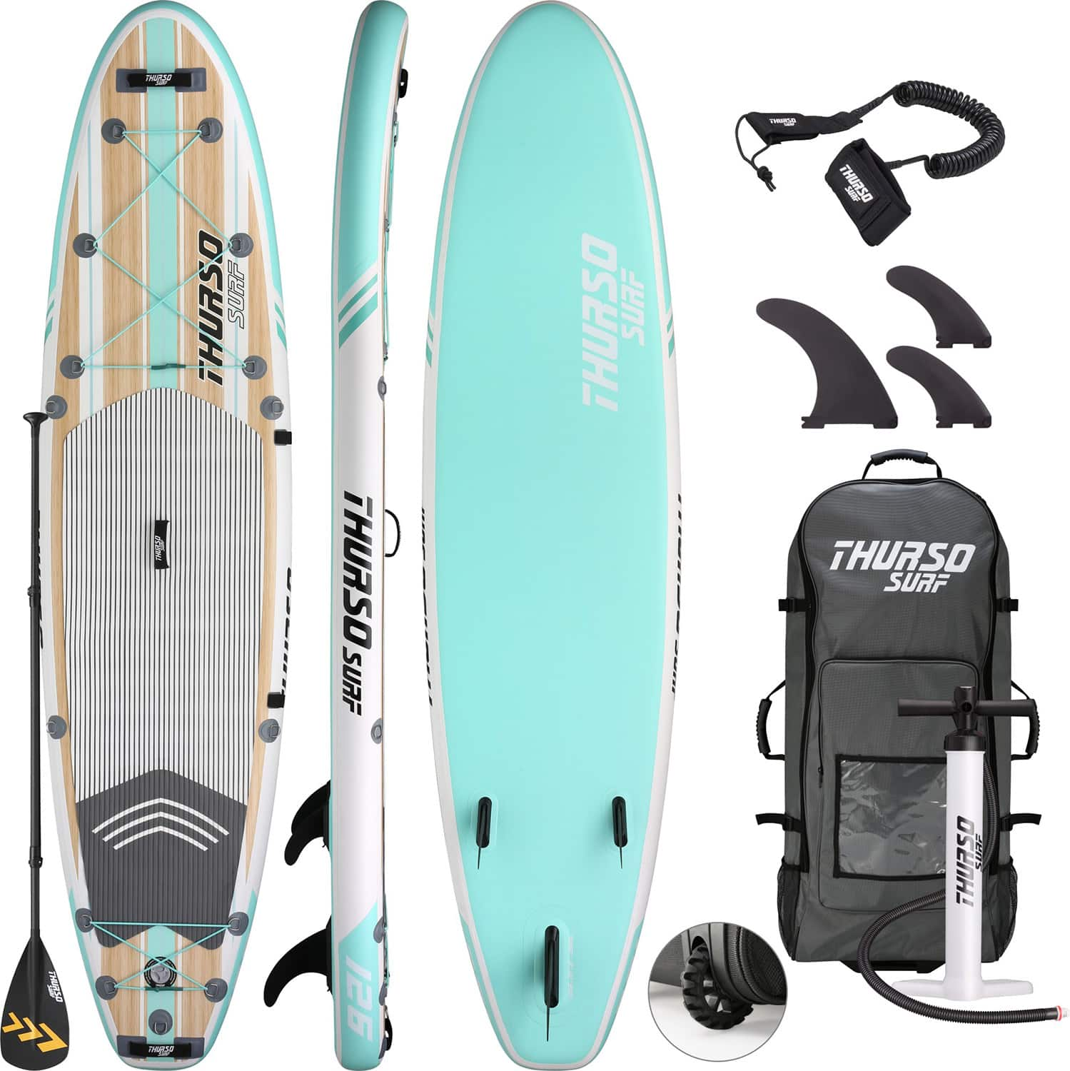 Thurso Surf Waterwalker 126 All-Around Inflatable SUP