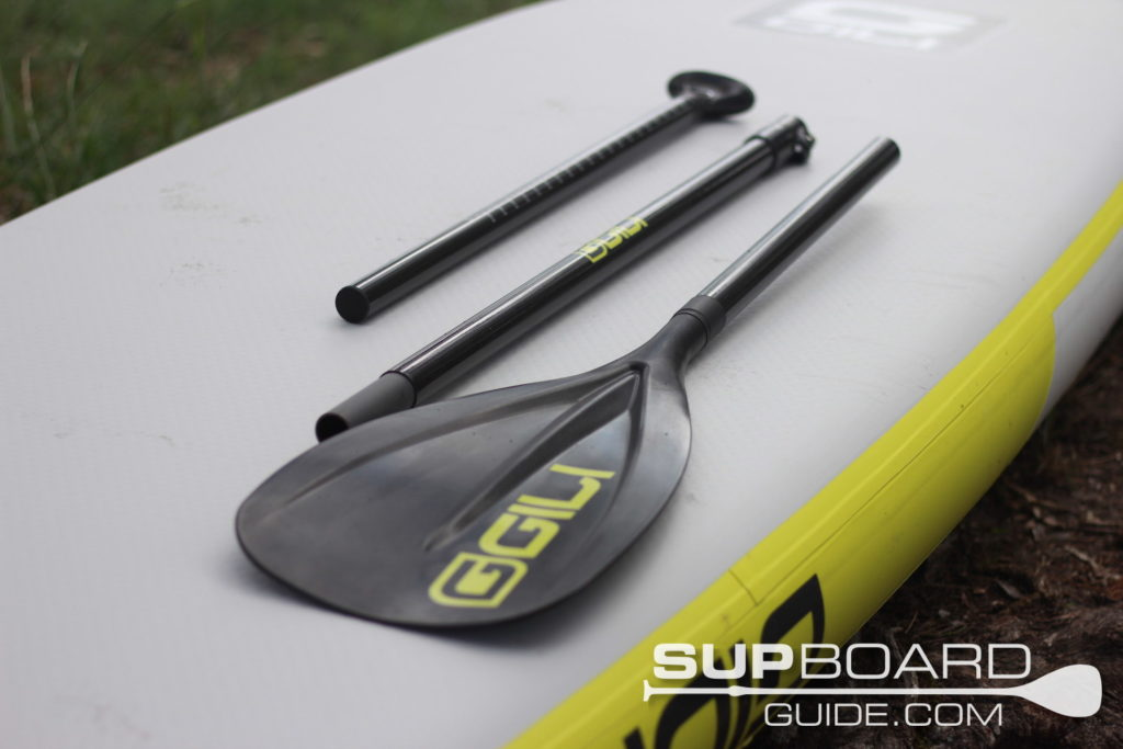 3 piece SUP paddle