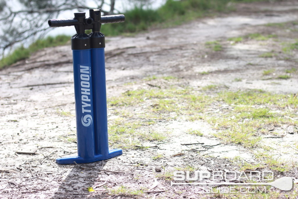 Double chamber hand pump