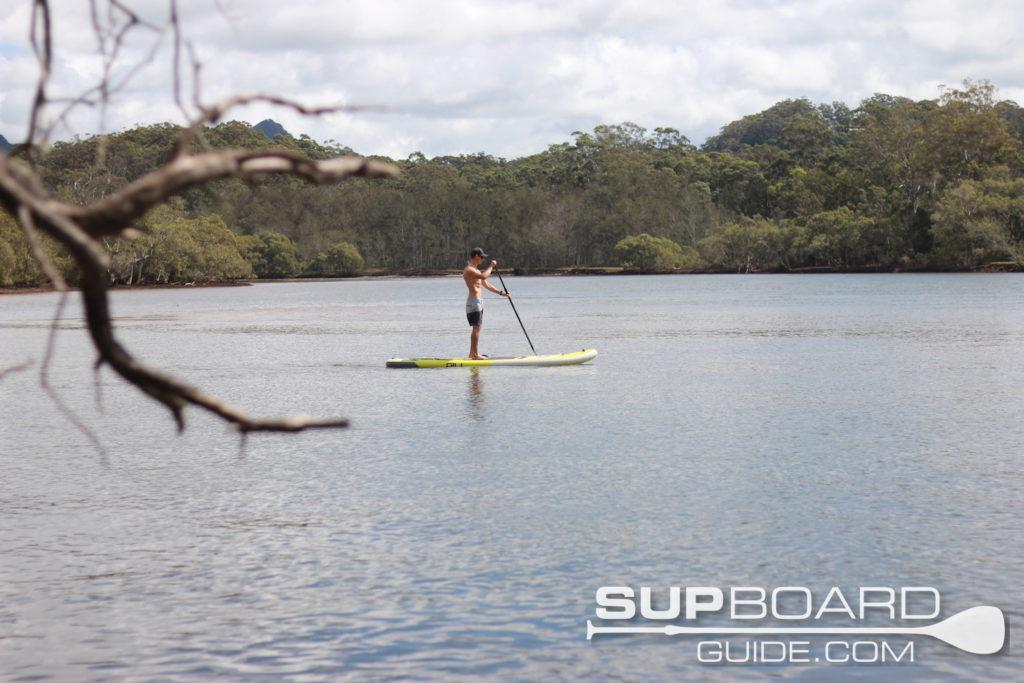 Calm paddling Gili SUP