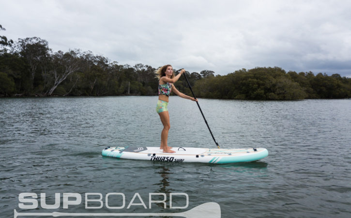 "SUP review WAterwalker 10'6"" All-around ThursoSURF"
