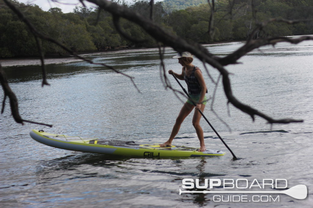 Turning Gili Sports SUP