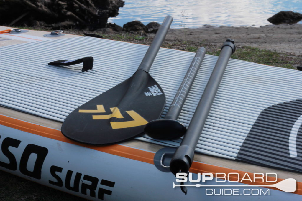 3 piece travel sup paddle