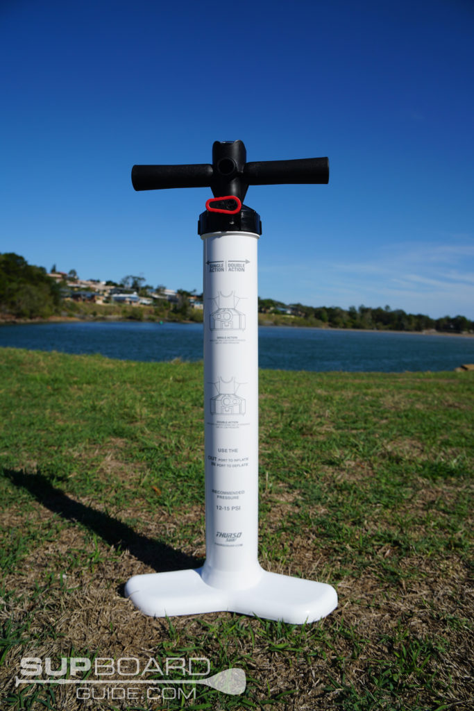 Hand pump for SUP