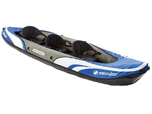 Sevylor Big Basin 3 Person Inflatable Kayak