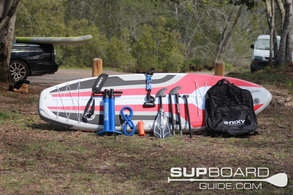 SUP accessories for NIXY paddleboards