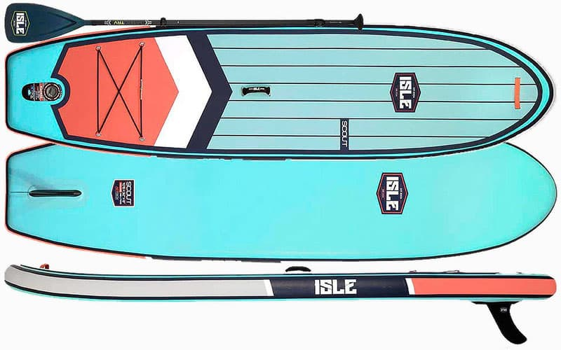 """ISLE Scout 10'6"""" SUP-Board Review"""