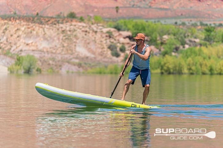 SUP Board Guide Gili Maneuverability