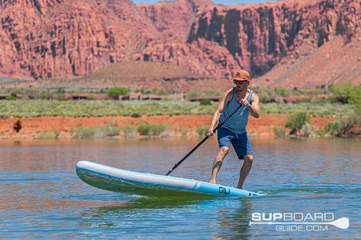 SUP Board Guide GiliAdventure Maneuverability